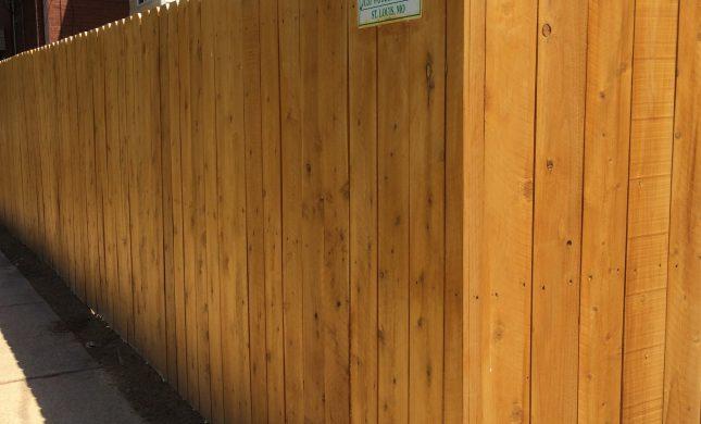 Delighful Wooden Fence Intended Design Decorating